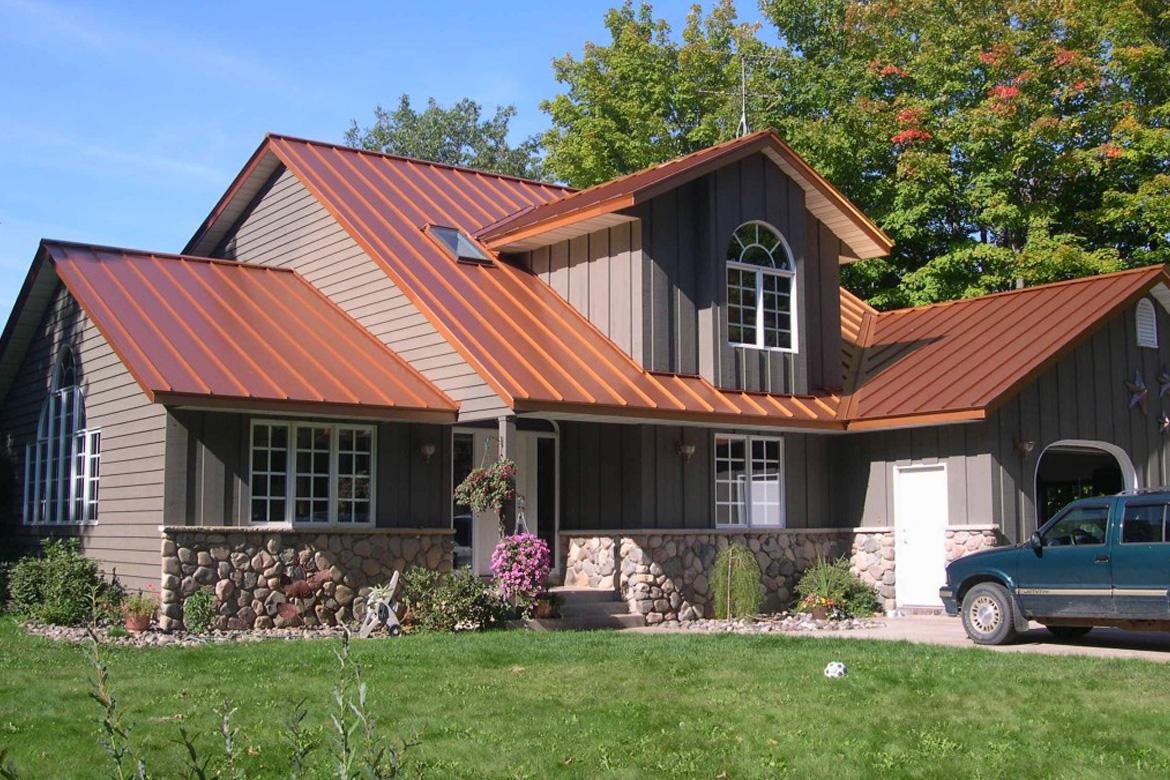 Metal Roofs For Residential Homes Homemade Ftempo